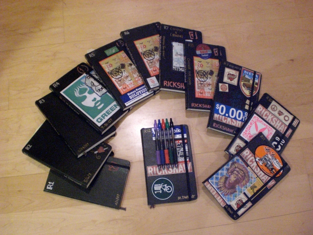 Some of Mark's Journals