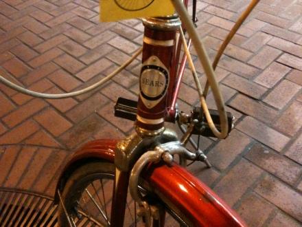 Sears headplate. We're having bike lust.
