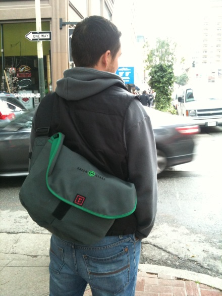 Custom Medium Zero Messenger for Green Gears in SF